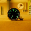 Termo pressure gauge 300 bar BLACK