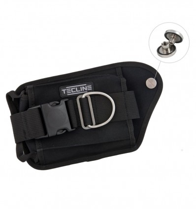 TecLine Weight Pockets - Double with bolts and nuts