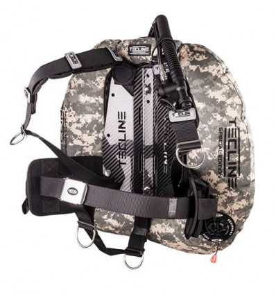 TecLine Donut 22 Special Edition Camouflage, DIR Carbon and Weight Pockets