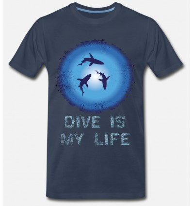T-Shirt DIVE IS MY LIFE