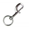 Snap hook with swivel SS 90mm