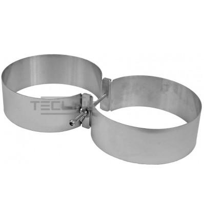 Obejmy TecLine na butle 205 mm - 2x15, 2x18L