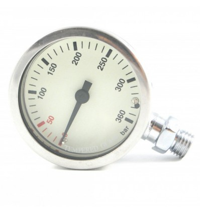 Termo pressure gauge 300 bar WHITE