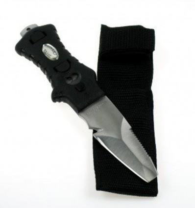 Nóż Minirazor do uprzęży z kaburą.