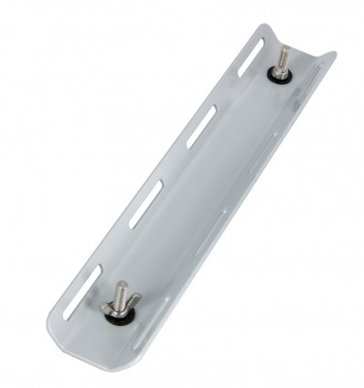 Single tank adapter aluminum with screws