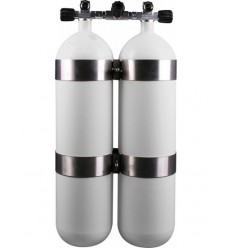 Twinset: double cylinder 2X12 L