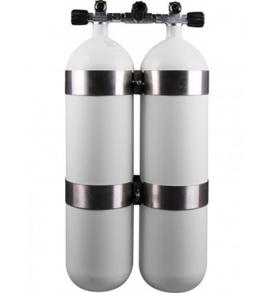 Twinset double cylinder 2X12 L