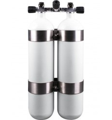 Twinset: double cylinder 2X8,5 L