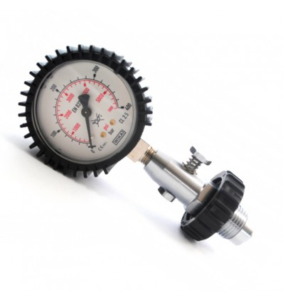 Pressure gauge 200/300 bar for cylinders