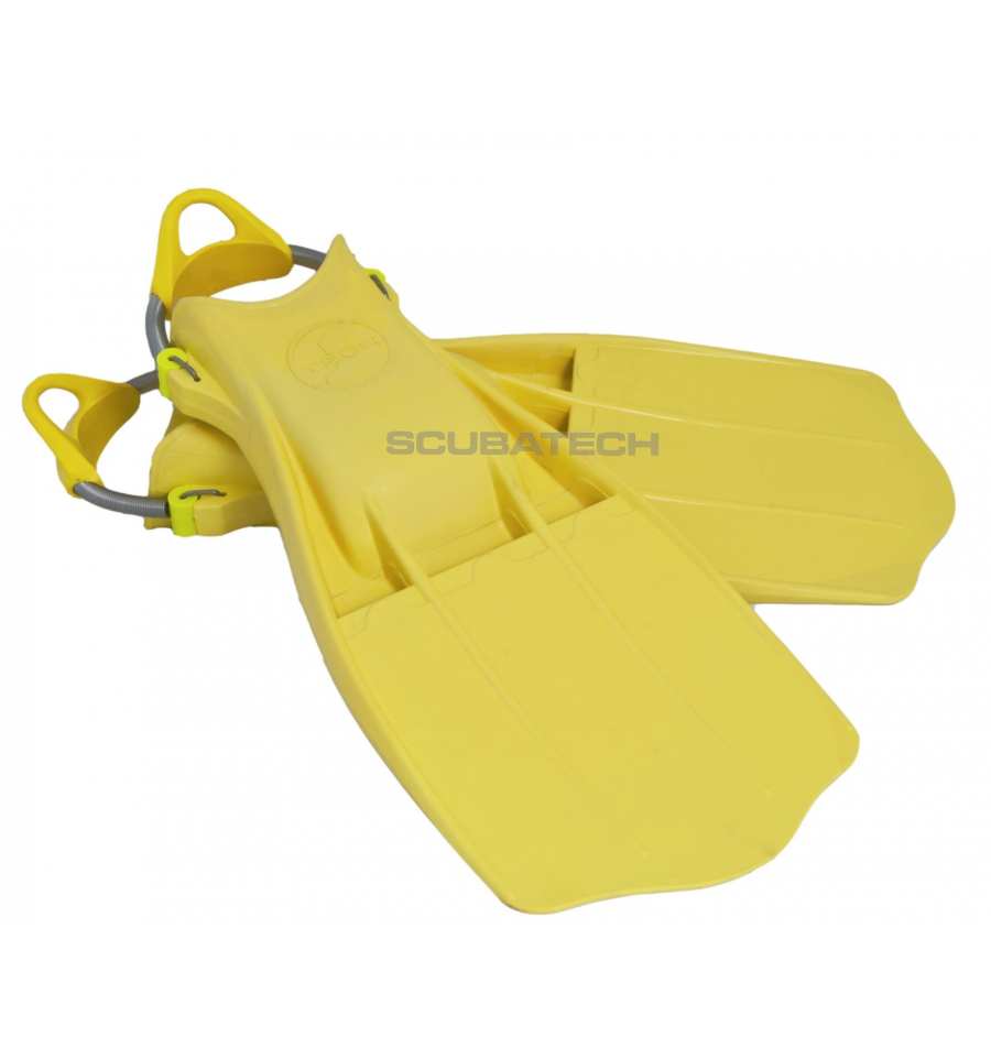 tecline jetstream rubber fins with springs diving store net